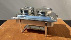 7cd200 Chafing Dish für Suppe oder Sauce 2x4,5 Liter