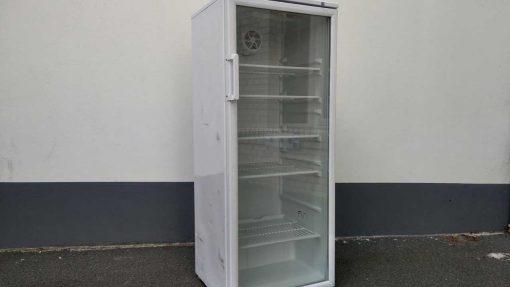 8ks100 Flaschenkühlschrank mit Glastür 282 Liter