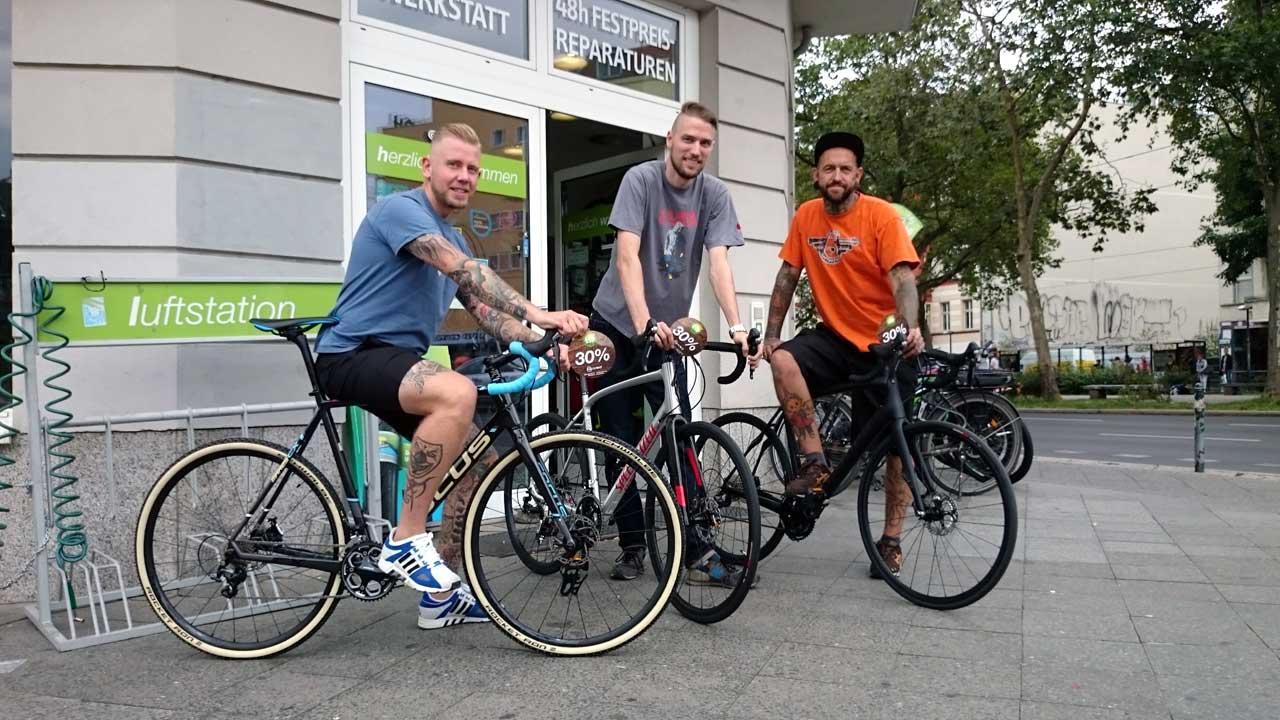 Fahrradladen Berlin Radwelt - Fahrräder, Werkstatt, Verleih
